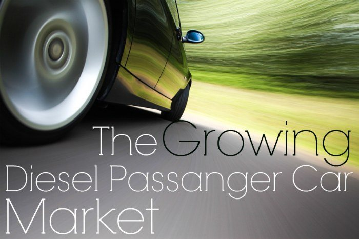 demand for diesel passanger cars
