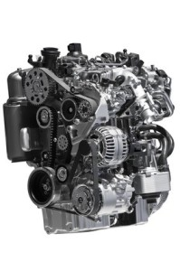 Diesel car engine